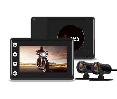 Motocam Motocam A2X Wifi 2CH dual motor dashcam