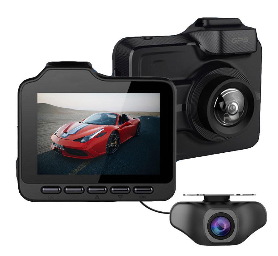 GT85 4K Ultra HD 2CH Dual Wifi GPS dashcam