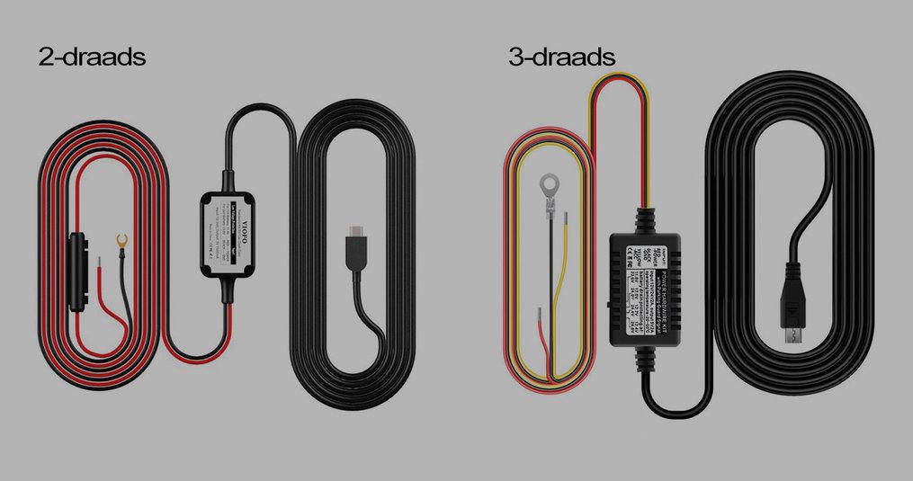 2-draads en 3-draads Continue voeding installeren
