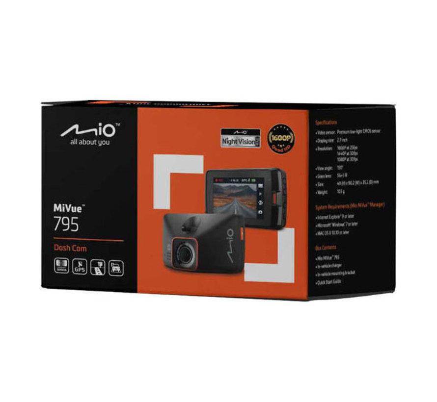 Mio MiVue 795 GPS Wide QHD dashcam