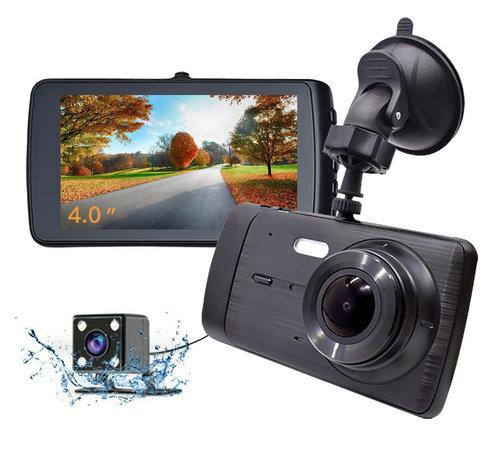Allcam X4 Touch 2CH Dual 4.0 inch 1296p dashcam