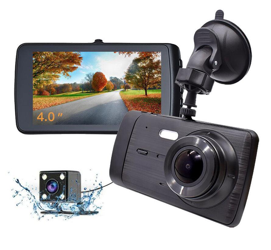 X4 Touch 2CH Dual 4.0 inch 1296p dashcam
