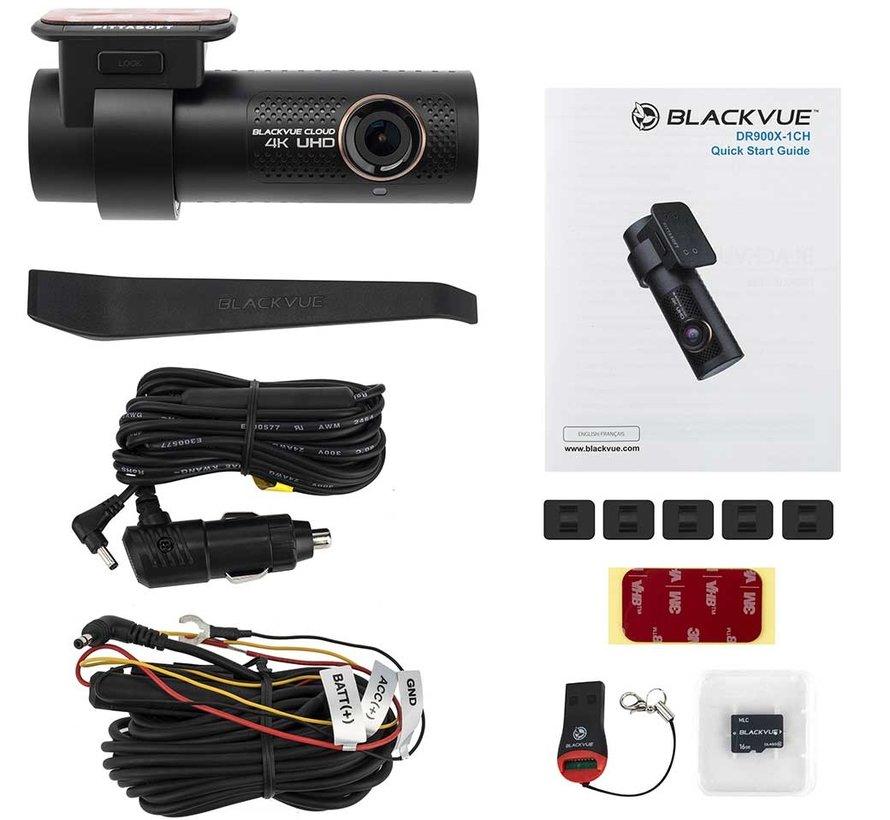 BlackVue DR900X-1CH 4K 32gb Cloud Wifi GPS dashcam