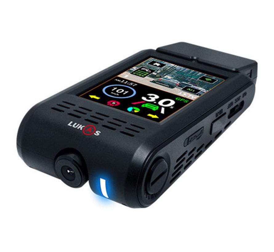 LUKAS H900 4K Touch Wifi GPS 128gb dashcam
