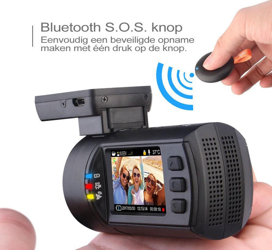 Mini 0906 4K 2CH Dual GPS dashcam