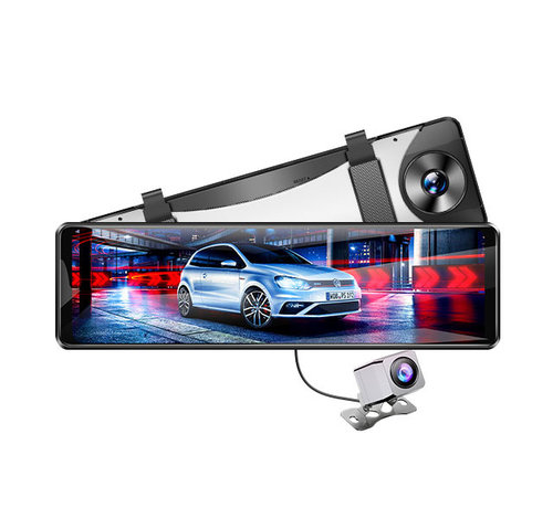 AZDome AZDome PG16S Full Mirror 2K GPS 32gb dashcam