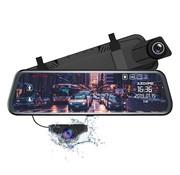 AZDome AZDome AR08 2CH Full Mirror Wifi Touch dashcam