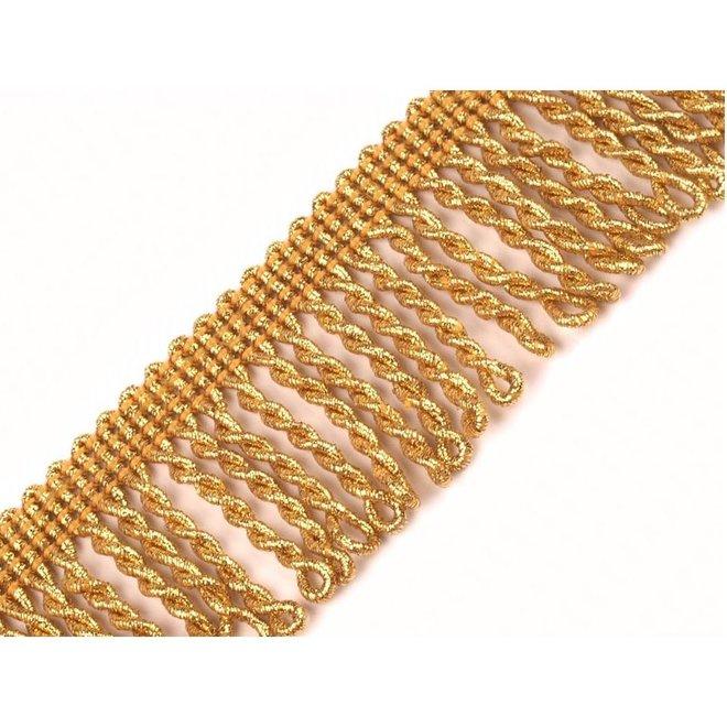 Leonische Fransenborte Gold