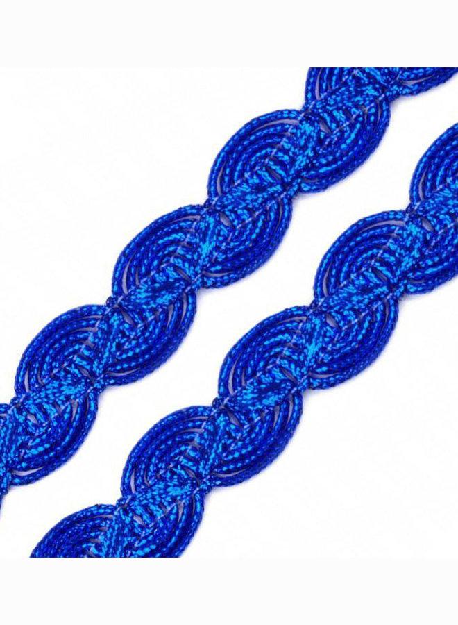 Leonische Borte  Blau