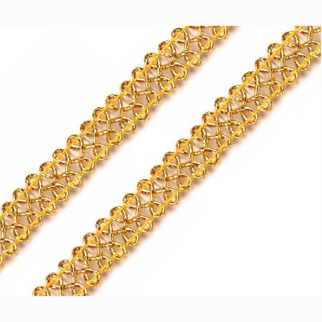 Leonische Borte Gold