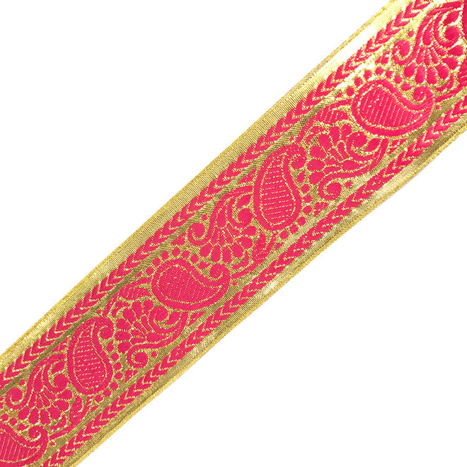 Brokatborte in Pink Gold