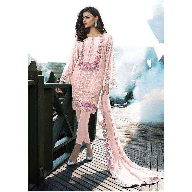 Salwar Kameez in Rosé, Pink (Massanfertigung)