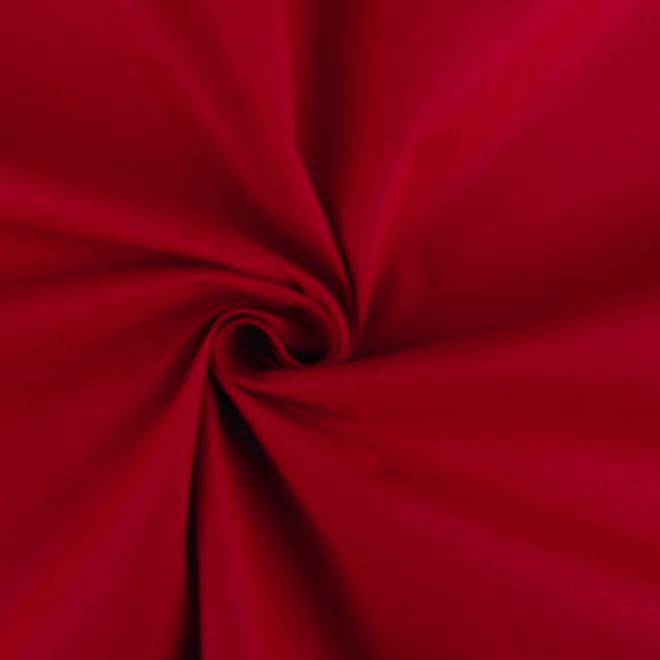 Reine Baumwolle in Rot