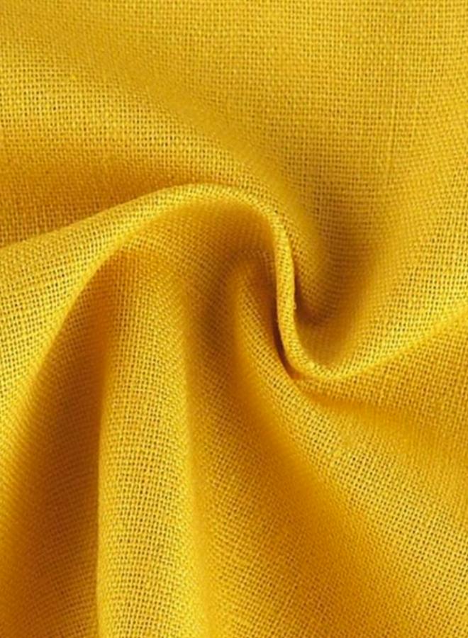 Reines Leinen in Gelb
