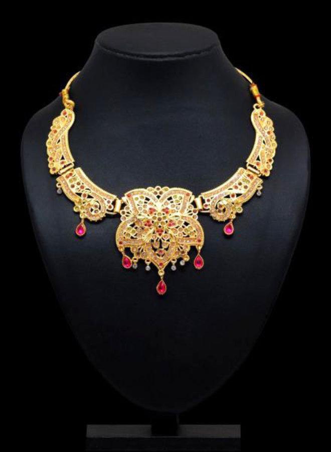 Indische Kette in Gold