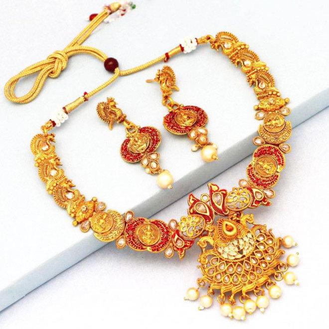 Indische Kette in Gold (Shiva)
