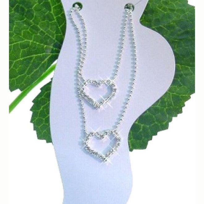 Fusskette, Fussschmuck in Silber