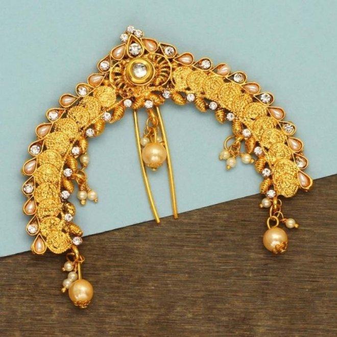 Original indischer Haarschmuck, Juda Pin