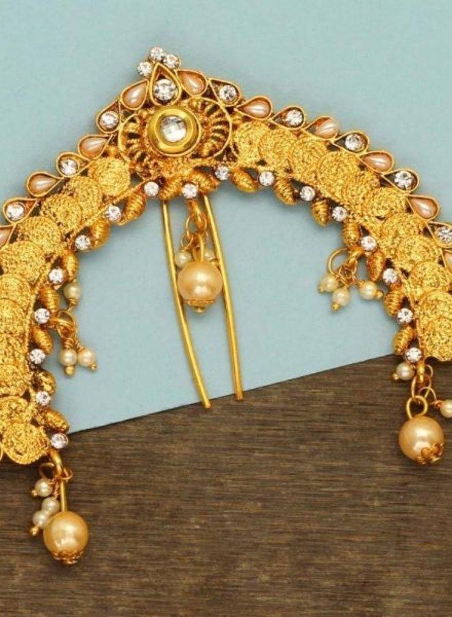 Original indischer Juda Pin, Haarschmuck