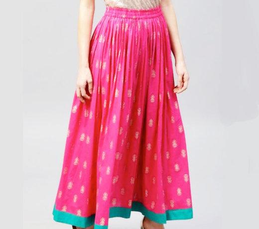 Hosen & Rücke im indischen Stil