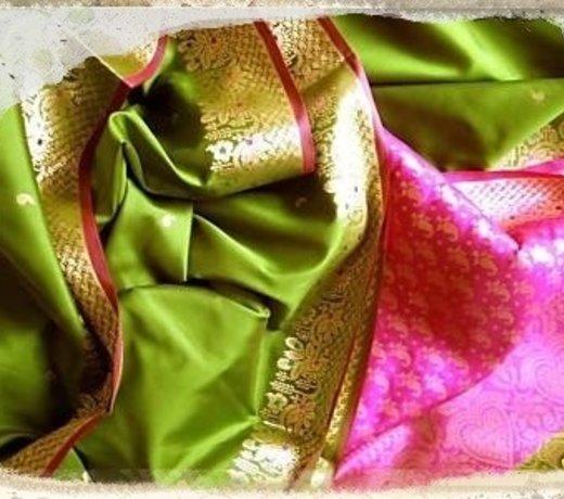 Sari gemischt (z. Weiterverarbeiten)