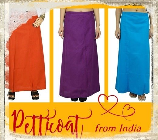 Unterrock für Saris