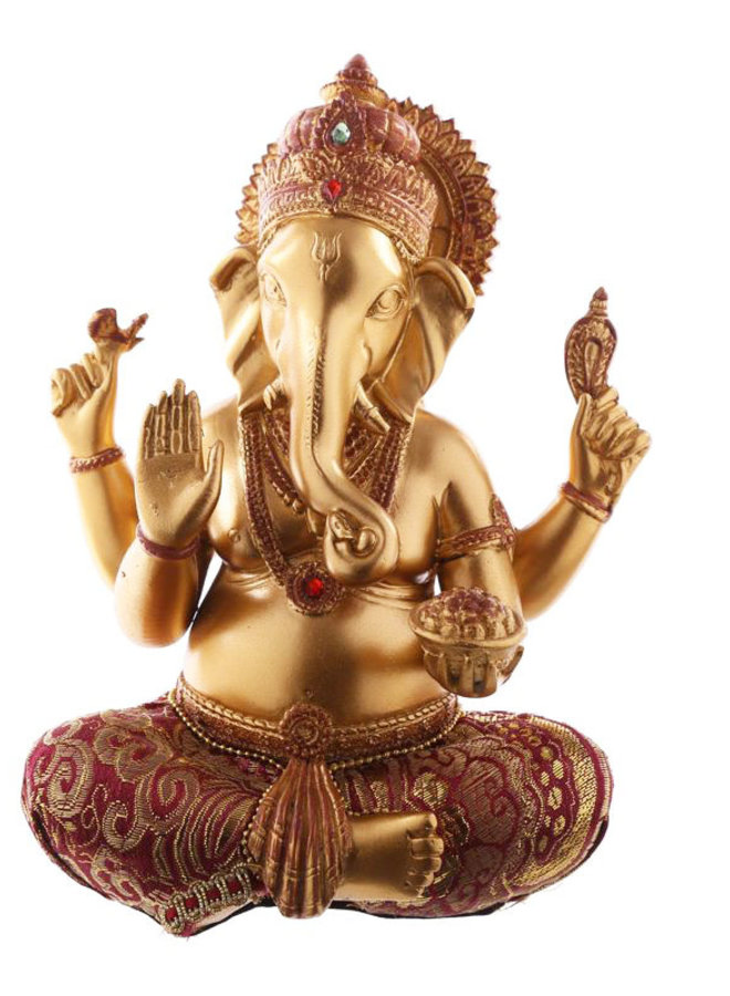 Ganesha in Gold, Rot