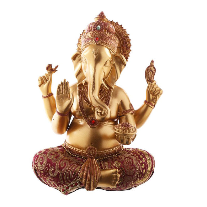 Ganesha in Gold, Rot