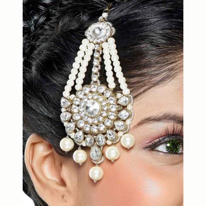 Maang Passa, indischer Haarschmuck