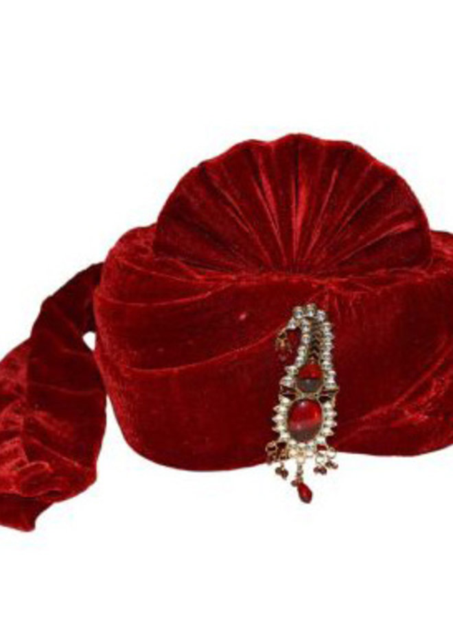 Turban in Rot