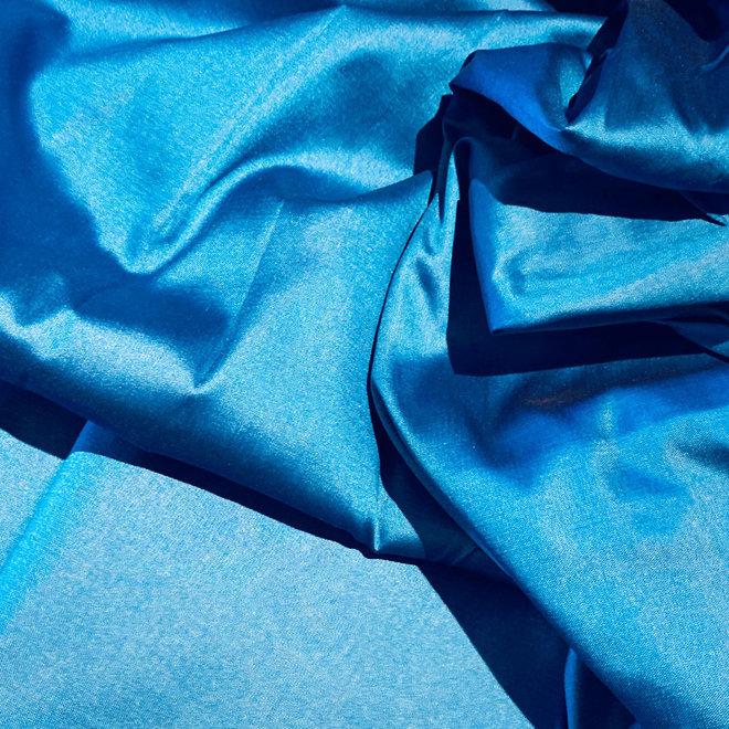 Sariblusenstoff in Blau