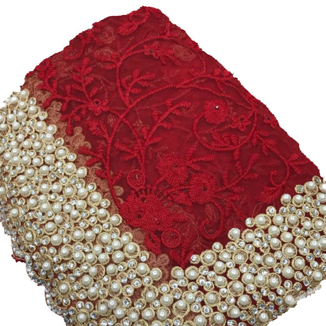 Exklusiver Sari in Rot