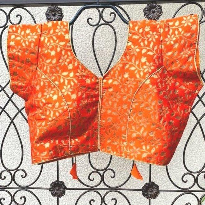 "Saribluse ""readymade"" in Orange"