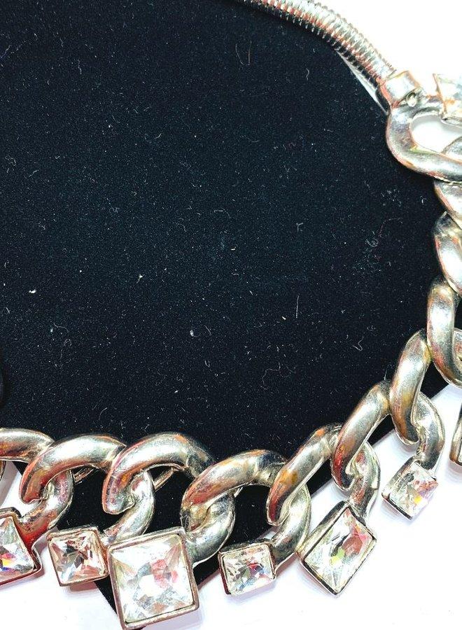 Schmuck Halsband mit Steinen  - Copy