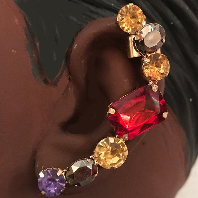 Ear climber, ear cuffs