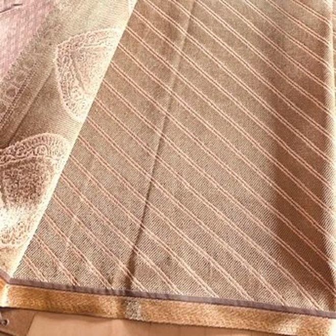 Sari Chennai Pfirsich