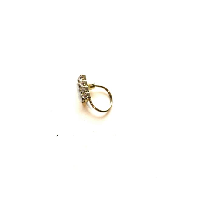 Nasenschmuck, Nasenpin ohne Piercing  (Gold)