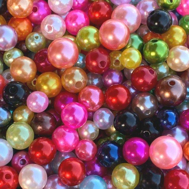 Perlen bunt gemischt