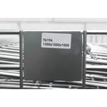 Inklapbare draadcontainer 1200x1000x1000mm, verzinkt
