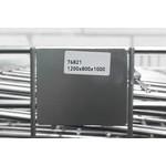Inklapbare draadcontainer 1200x800x1000mm, verzinkt