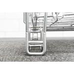 Inklapbare draadcontainer 1200x1000x1200mm, verzinkt