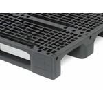 Kunststof pallet 1200x800x150mm, versterkt