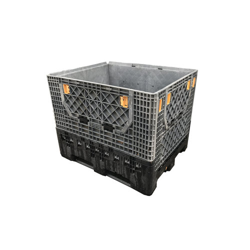 Inklapbare palletbox 1200x1000x975mm, gebruikt