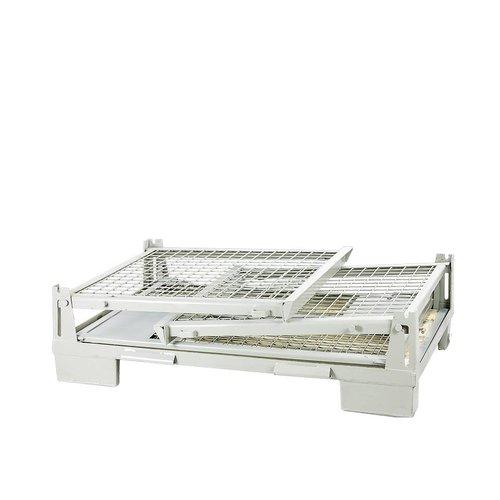 Inklapbare gitterbox 1240x830x970mm, nieuw
