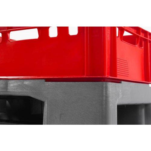 Kunststof pallet 1200x800x160mm