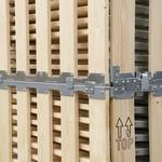 Palletbox MPBOX 1200x800x700mm, hout, demontabel