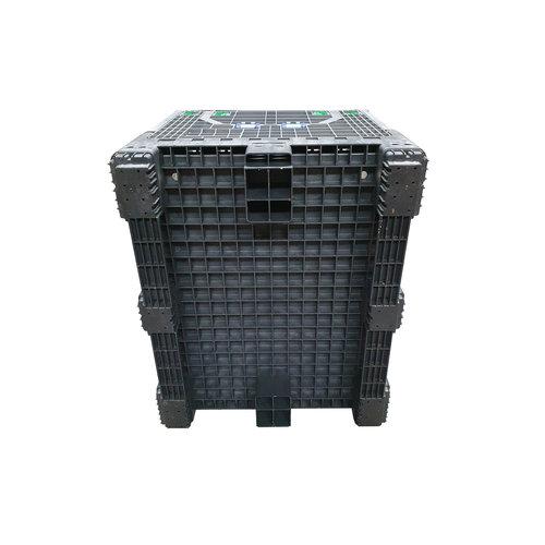 Palletbox 1200x1000x975mm, 814 liter kunststof, inklapbaar