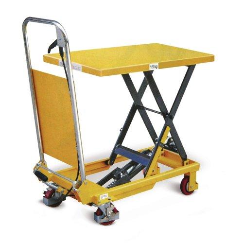 Schaarheftafel 740x450mm, 150 kg rijdbaar