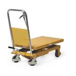 Schaarheftafel 855x500mm, 300 kg, rijdbaar