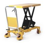 Schaarheftafel 1000x510mm, 800 kg, rijdbaar